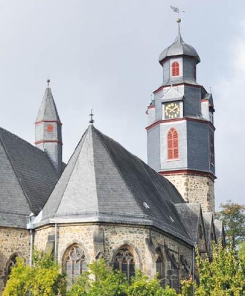 Barockhaus Weide Ferienwohnung in Butzbach
